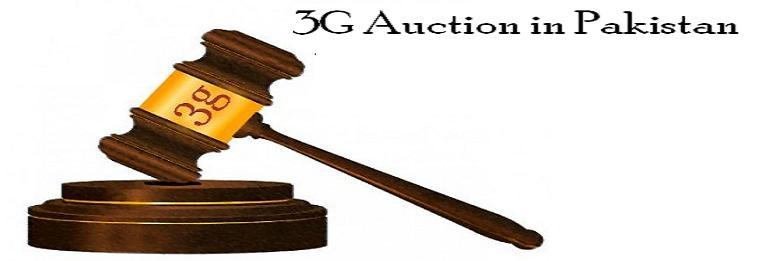 3G auction Pakistan