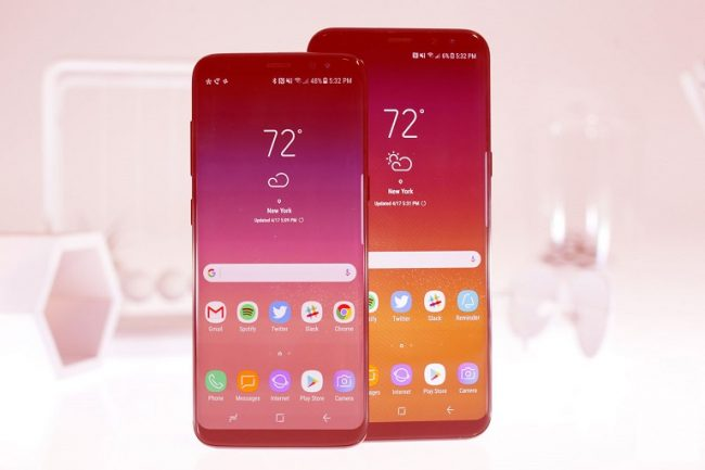 Samsung Updated Galaxy S8 Software to Get Rid of Red Screens