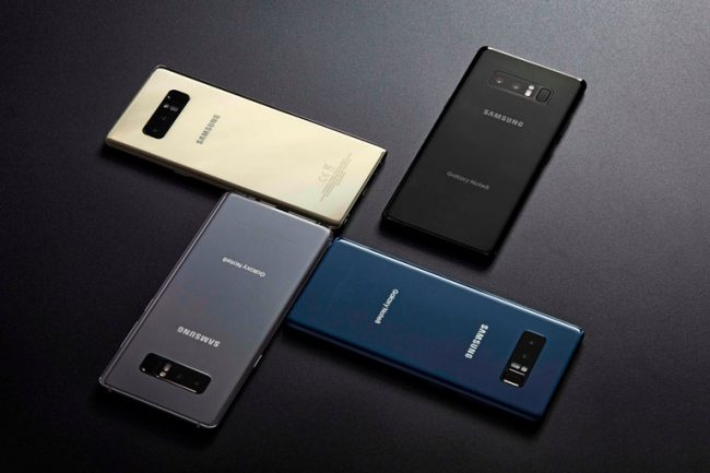 Samsung Started Pre-Sale of Galaxy Note 8 in Kazakhstan
