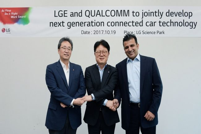 LG and Qualcomm to Jointly Research and Develop Next-Gen Connectivity Solutions for Cars