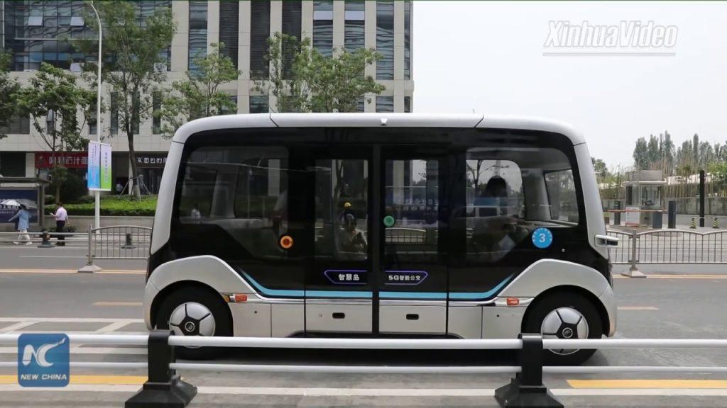 China's 5G Smart Bus